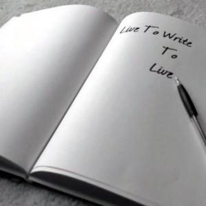 Langkah perama menjadi penulis adalah...  Menulis !